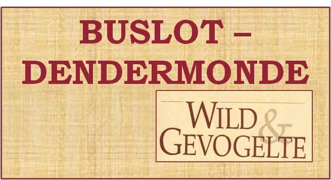Buslot wild & gevogelte