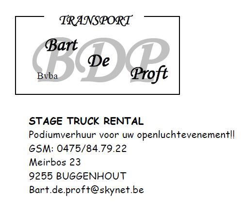 transport Bart De Proft