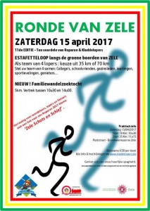 affiche ronde van Zele 2017