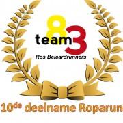 10 jaar Roparun