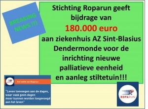 steun Roparun AZ SintBlasius
